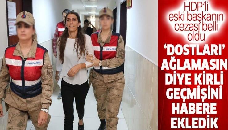 """Son dakika: HDP'li eski Kocaköy Belediye Başkanı Rojda Nazlier'e """"silahlı terör örgütüne üye olmak"""" suçundan 9 yıl hapis"""