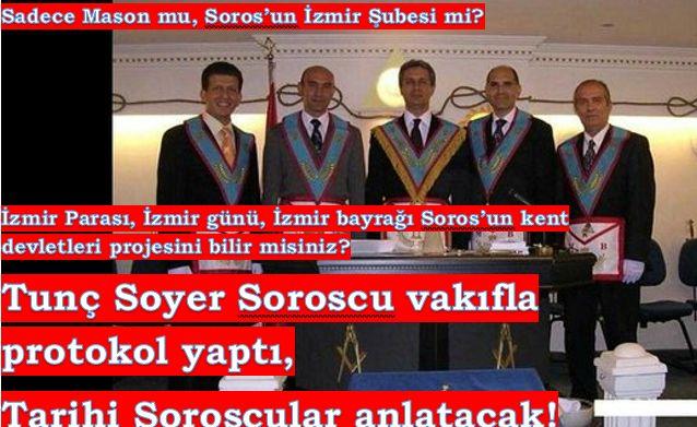 Tunç Soyer, Soros'tan fonlanan vakıfla protokol yaptı: Tarihi Sinan Meydan'lar değil, Soros kadrosu anlatacak!