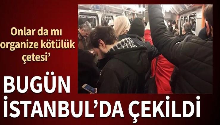 İstanbul'da seferler azaltıldı, toplu taşımada kurallara uyulmadı
