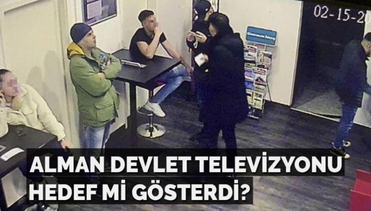 Alman devlet televizyonu hedef mi gösterdi?
