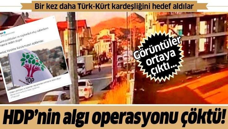 HDP'nin algı operasyonu çöktü! Afyon'da 'Türk-Kürt çatışması' yalanı ellerinde patladı