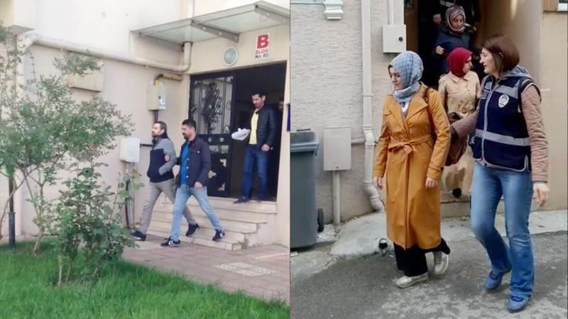 Gaybubet evinde yakalanan 14 şüpheliden 10'u tutuklandı