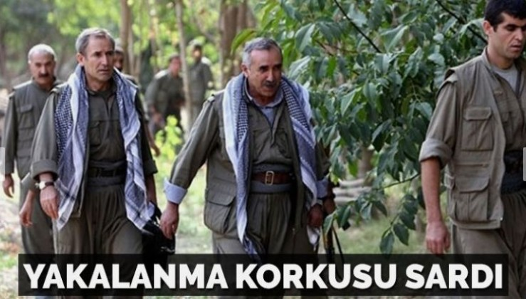 Terör örgütü PKK elebaşlarını yakalanma korkusu sardı
