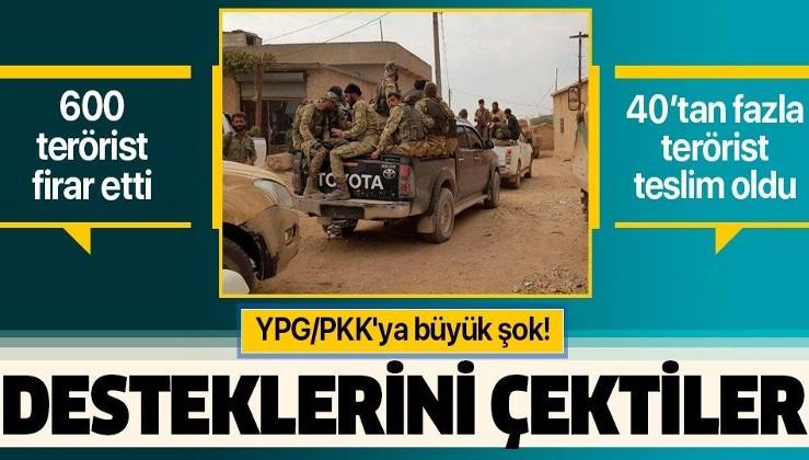 Barış Pınarı'yla birlikte 600 terörist firar etti