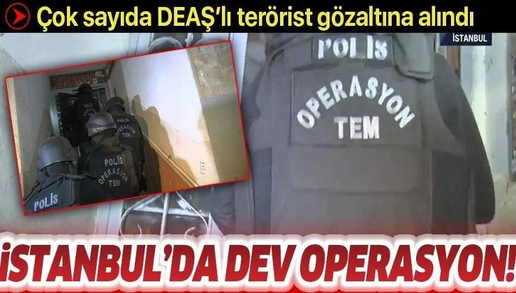 İstanbul'da DEAŞ operasyonu: Çok sayıda gözaltı var