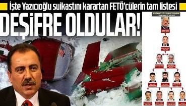 SON DAKİKA: Muhsin Yazıcıoğlu suikastını karartan FETÖ ekibi deşifre oldu: İşte isim isim liste