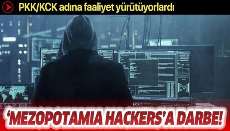 """Son dakika: PKK/KCK adına faaliyet yürüten """"Mezopotamia Hackers"""" adlı gruba operasyonda 18 kişi gözaltına alındı"""