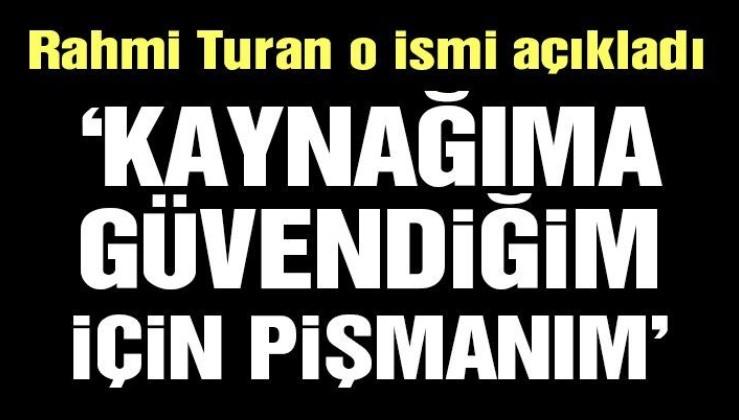 Muharrem İnce'ye Sözcü kumpasında durum: Rahmi Turan çark etti!