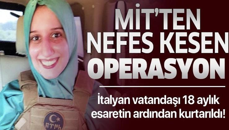 Son dakika: MİT, Kenya'da kaçırılan İtalyan vatandaşını kurtardı