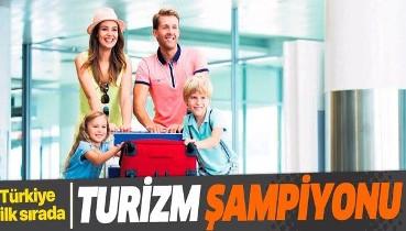 Turizm şampiyonu: Türkiye ilk sırada