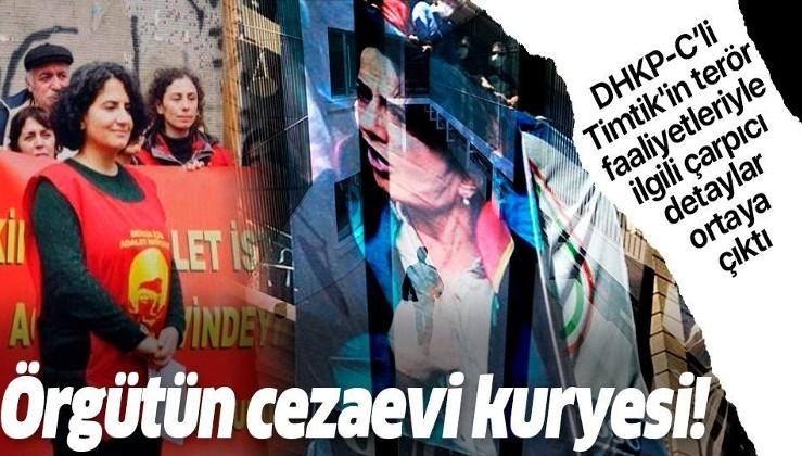 DHKP-C'li Ebru Timtik'in terör faaliyetleriyle ilgili çarpıcı detaylar: Örgütün cezaevi kuryesi olduğu ortaya çıktı