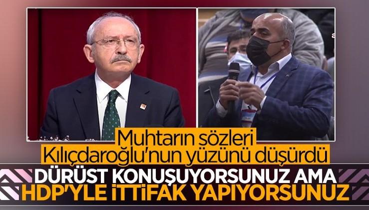 Muhtarlardan CHP Genel Başkanı Kemal Kılıçdaroğlu'na HDP tepkisi!