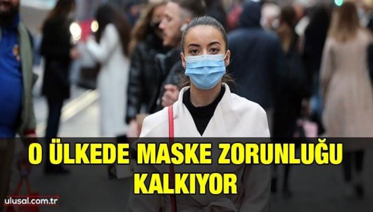 O ülkede maske zorunluğu kalkıyor