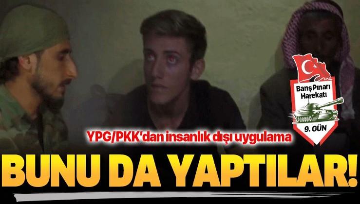 YPG/PKK'dan insanlık dışı uygulama! Sivilleri canlı kalkan yaptılar.