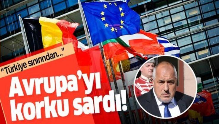 Avrupa'yı mülteci korkusu sardı! Bulgaristan Başbakanı Borisov: Türkiye sınırından....