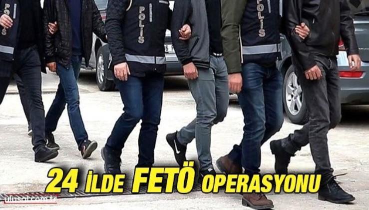 FETÖ'nün TSK yapılanmasına operasyon