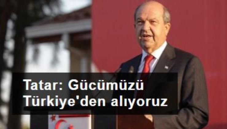 Ersin Tatar: Türkiye'yle uyum içinde çalışmak, bizi güçlü kılıyor