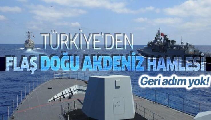 Son dakika: Türkiye'den flaş Doğu Akdeniz hamlesi! Yeni NAVTEX yayınladı