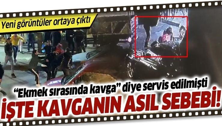 Bayrampaşa'daki kavganın sebebi ekmek kuyruğu değil trafik kazası çıktı
