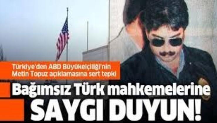 FETÖ'cü Metin Topuz'a ABD Büyükelçiliği'nden skandal destek!