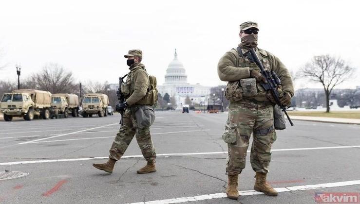 Joe Biden'ın yemin töreni öncesi Washington DC'de güvenlik alarmı! Eller tetikte