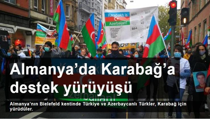 Almanya'da Karabağ'a destek yürüyüşü: Karabağ'ı kurtarmakta kararlıyız!