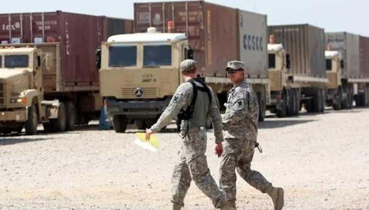 Bağdat'ta ABD askerlerinin bulunduğu üs vuruldu