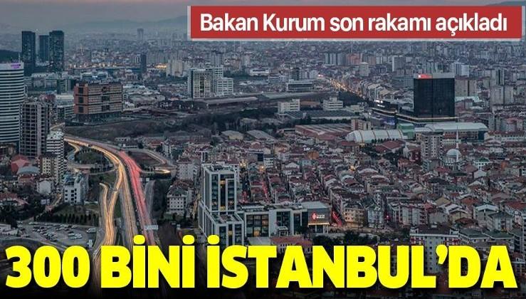 SON DAKİKA: Bakan Kurum'dan kentsel dönüşüm açıklaması: 300 bini İstanbul'da