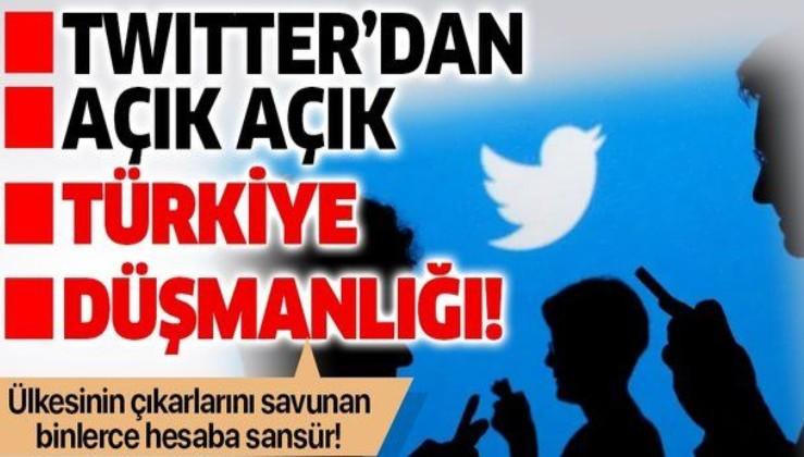Twitter, Türkiye karşıtı bir kara propaganda makinesine dönüştü!