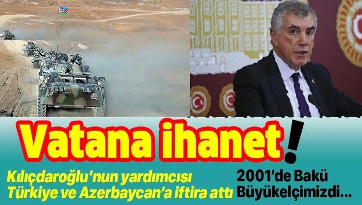 YCHP Genel Başkan Yardımcısı, ABD'nin sesi Ünal Çeviköz'den Türkiye ve Azerbaycan'a iftira