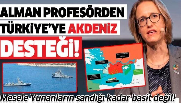 Alman Hukuk Profesörü Nele Matz-Lück'ten Türkiye'nin Doğu Akdeniz tezlerine destek