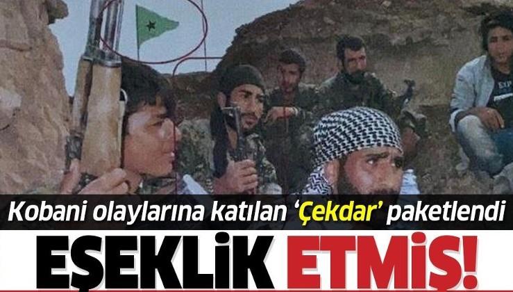 Kobani olaylarına katılan 'Çekdar' kod adlı terörist Gaziantep'te paketlendi