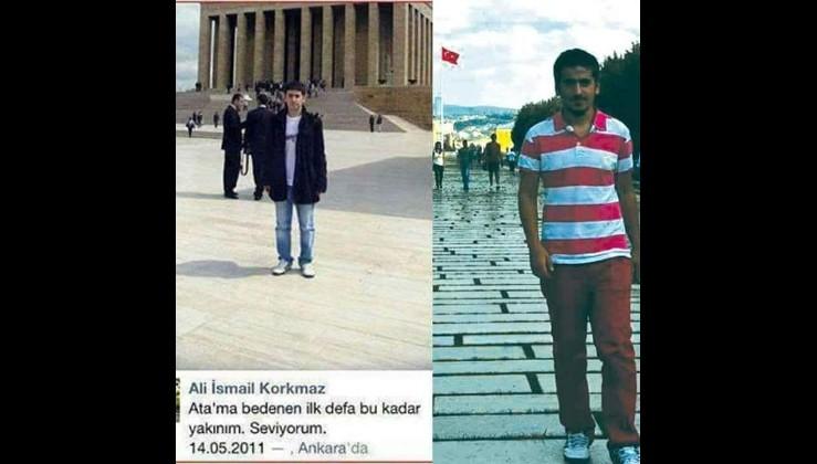 Fetullahın polis kılığına girmiş maşalarınca katledilen Ali İsmail Korkmaz 19 yaşındaydı
