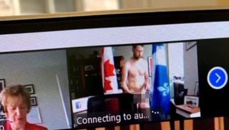 Geçen ay video konferansta çıplak görüntülenen Kanadalı siyasetçi şimdi de meclis oturumunda idrarını yaptı
