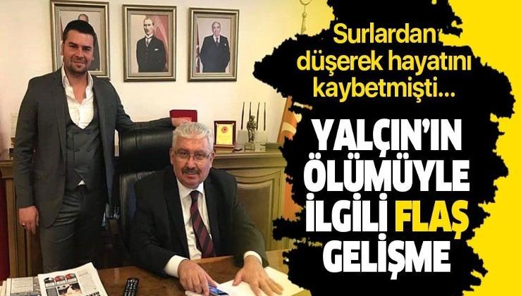 MHP'li Yalçın'ın oğlunun ölümüyle ilgili flaş gelişme! 3 kişi gözaltına alındı.
