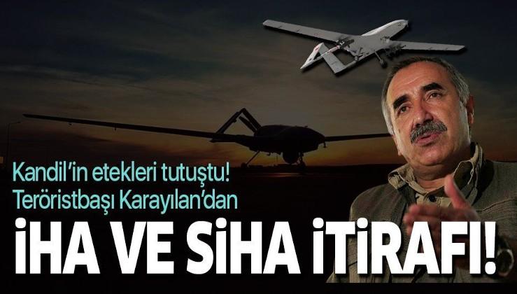 Teröristbaşı Murat Karayılan ve Duran Kalkan'dan tarihi İHA/SİHA itirafı