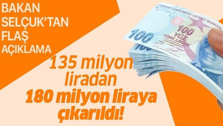Son dakika: Bakan Zehra Zümrüt Selçuk duyurdu: Sosyal Yardımlaşma ve Dayanışma Vakıflarına aktarılan kaynak 180 milyon liraya çıkarıldı!