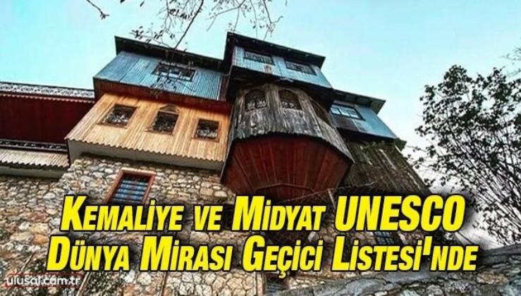 Kemaliye ve Midyat UNESCO Dünya Mirası Geçici Listesi'nde