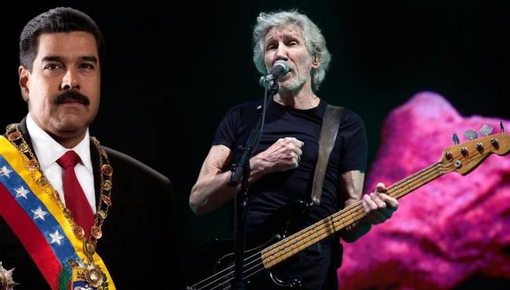 Pink Floyd'un kurucusundan Maduro'ya destek, ABD'ye protesto!