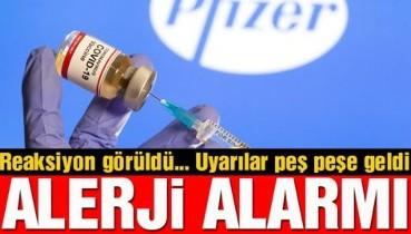 İngiltere'de Pfizer-BioNTech aşısı alarmı: İki kişide reaksiyon görüldü! Alerjisi olan yaptırmasın