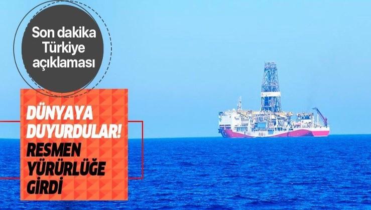 Libya, Türkiye ile imzalanan mutabakatların yürürlüğe girdiğini açıkladı.
