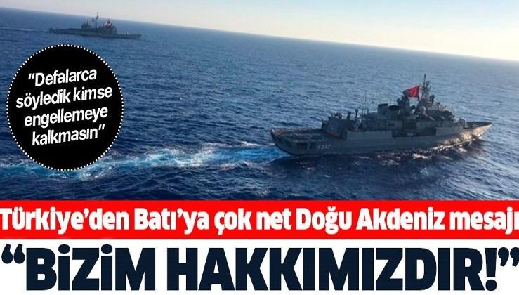 Milli Savunma Bakanı Hulusi Akar'dan 'Doğu Akdeniz' açıklaması: Bizim hakkımızdır