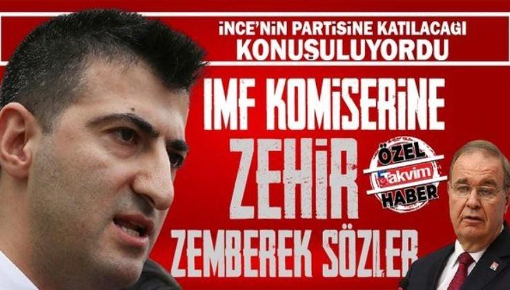 Muharrem İnce'nin yeni partisine katılacağı konuşuluyordu! CHP'li Mehmet Ali Çelebi'den Faik Öztrak'a zehir zemberek sözler!
