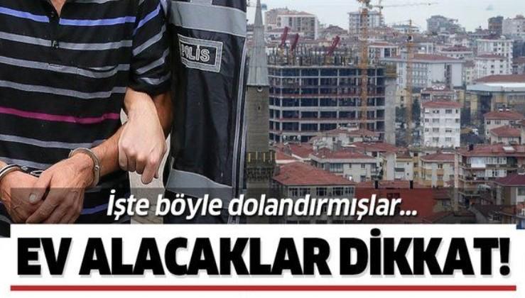 İstanbul Emniyetinden Fikirtepe'de konut dolandırıcılarına operasyon! 25 gözaltı