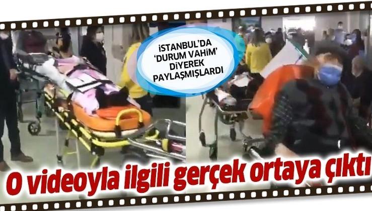 """Sosyal medyada """"İstanbul'da koronavirüs durumu"""" diye paylaşmışlardı! O görüntülerle ilgili flaş açıklama"""