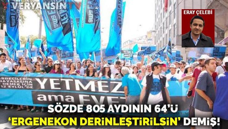 805 sözde aydının 64'ü Ergenekon kumpasına destek bildirisi yayımlamış!