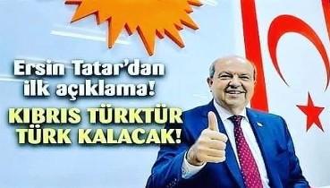 Cumhurbaşkanı Ersin Tatar'ın Devir Teslim Tören Konuşması: