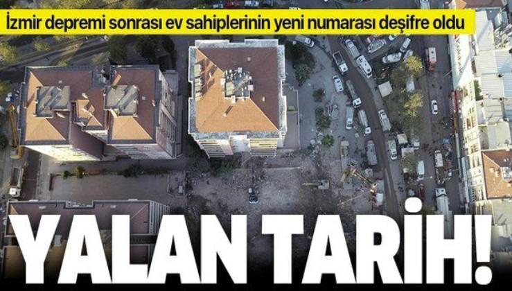 SON DAKİKA: İzmir depremi sonrası ev sahiplerinin yeni numarası ortaya çıktı!