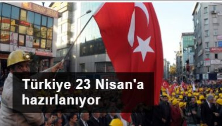 İşçiler de 23 Nisan saat 21.00'de İstiklal Marşı'nı okuyacak