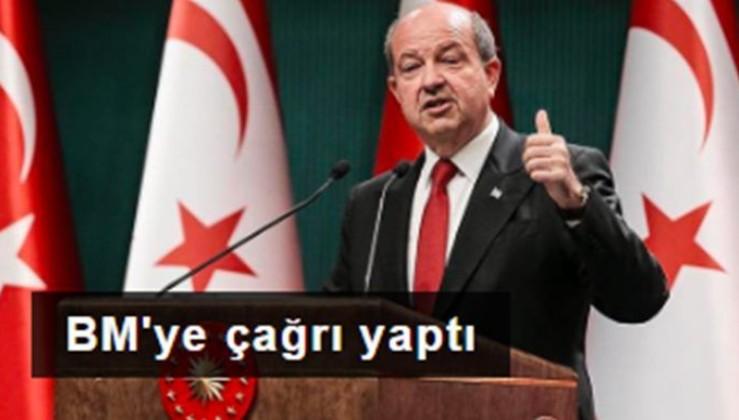 KKTC Cumhurbaşkanı Tatar'dan BM'YE İKİ DEVLETLİ ÇÖZÜM YAKLAŞIMI mektubu